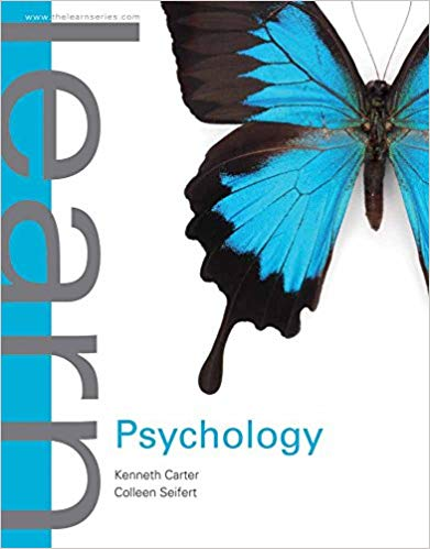 Learn Psychology 1st Edition by Kenneth Carter PDF