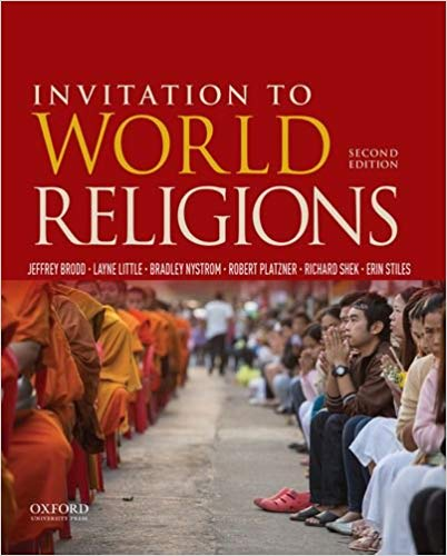 Invitation to World Religions 2nd Edition by Jeffrey Brodd PDF - Books with Benefits