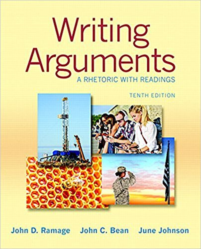 Writing Arguments: A Rhetoric with Readings (10th Edition)  by John D. Ramage PDF