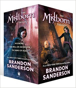 Mistborn series by Brandon Sanderson Ebooks 1-7