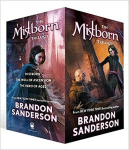 Mistborn series by Brandon Sanderson Audiobooks 1-6 - Books with Benefits