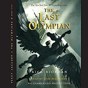 The Last Olympian: Percy Jackson, Book 5 by Rick Riordan Audiobook MP3 - Books with Benefits