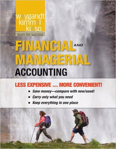 Financial and Managerial Accounting 1st Edition by Jerry J. Weygandt  PDF - Books with Benefits