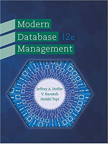 Modern Database Management 12th Edition by Jeffrey A. Hoffer PDF