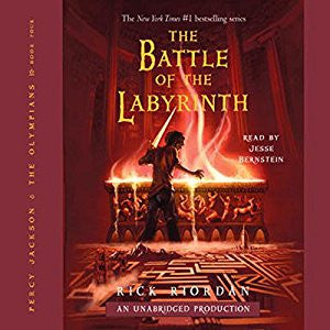 The Battle of the Labyrinth (Percy Jackson and the Olympians, Book 4)  by Rick Riordan  Audiobook MP3 - Books with Benefits