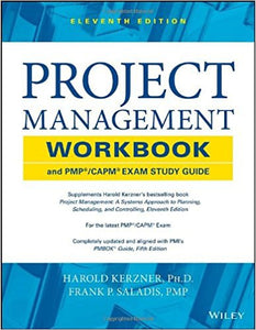 Project Management Workbook and PMP / CAPM Exam Study Guide 11th Edition by Harold Kerzner PDF - Books with Benefits