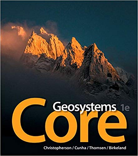 Geosystems Core Plus Mastering Geography  1st Edition by Robert W. Christopherson PDF - Books with Benefits