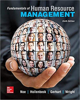 Fundamentals of Human Resources  6th Edition by Raymond Noe PDF