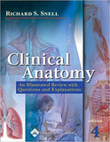 Clinical Anatomy: An Illustrated Review with Questions and Explanations Fourth Edition by Richard Snell PDF