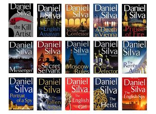 Gabriel Allon Series 1-17 Audiobooks by Daniel Silva - Books with Benefits
