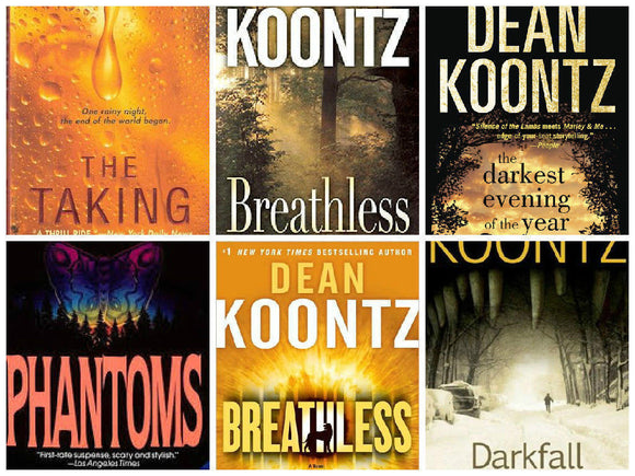 Dean Koontz 67 Audiobook Majority Collection mp3 - Books with Benefits