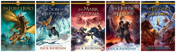 The Heroes of Olympus - Rick Riordan Audiobook Collection 1-5