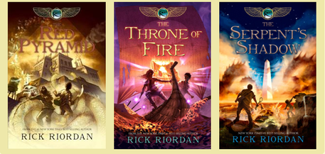 The Kane Chronicles 1-3 Audiobooks MP3 by Rick Riordan - Books with Benefits