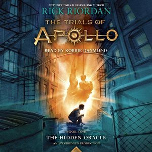The Hidden Oracle: The Trials of Apollo, Book One - Rick Riordan Audiobook MP3