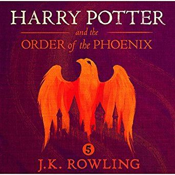 Harry Potter and the Order of the Phoenix by  J.K. Rowling Stephen Fry (Narrator) Audiobook - Books with Benefits