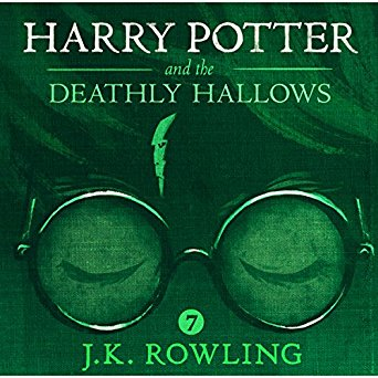Harry Potter and the Deathly Hallows,  Unabridged J.K. Rowling Stephen Fry (Narrator) Audiobook - Books with Benefits