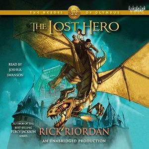 The Lost Hero (Heroes of Olympus, Book 1) by  Rick Riordan Audiobook MP3 - Books with Benefits