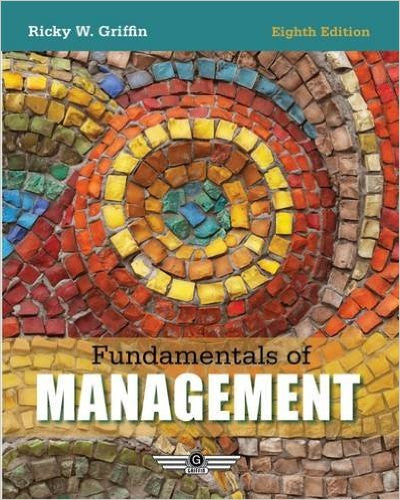 Fundamentals of Management 8th Edition by Ricky Griffin ETextbook