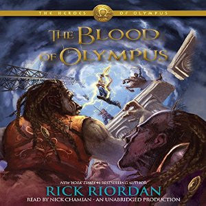 The Blood of Olympus: The Heroes of Olympus, Book 5 by Rick Riordan Audiobook MP3