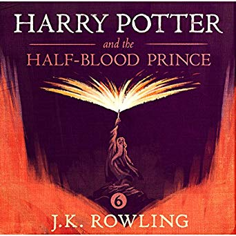 Harry Potter and the Half-Blood Prince Unabridged J.K. Rowling Stephen Fry (Narrator) Audiobook - Books with Benefits