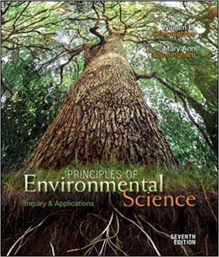 Principles of Environmental Science: Inquiry and Applications 7th Edition by William P Cunningham PDF - Books with Benefits