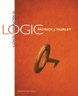 A Concise Introduction to Logic 12th Edition by Patrick J. Hurley PDF