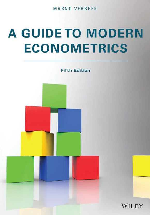 A Guide to Modern Econometrics 5th Edition  by Marno Verbeek PDF - Books with Benefits