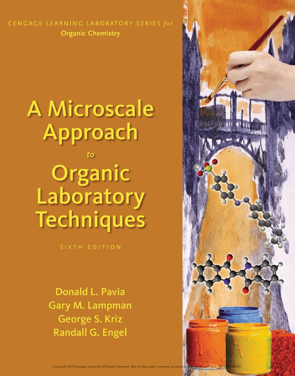 A Microscale Approach to Organic Laboratory Techniques 6th Edition by Donald L. Pavia PDF - Books with Benefits