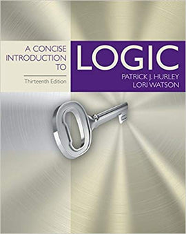 A Concise Introduction to Logic 13th Edition by Patrick J. Hurley PDF