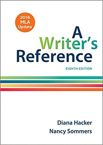 A Writer's Reference  Eighth Edition by Diana Hacker PDF - Books with Benefits