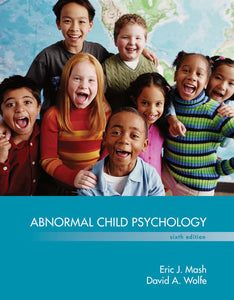 Abnormal Child Psychology 6th Edition by Eric J Mash PDF - Books with Benefits