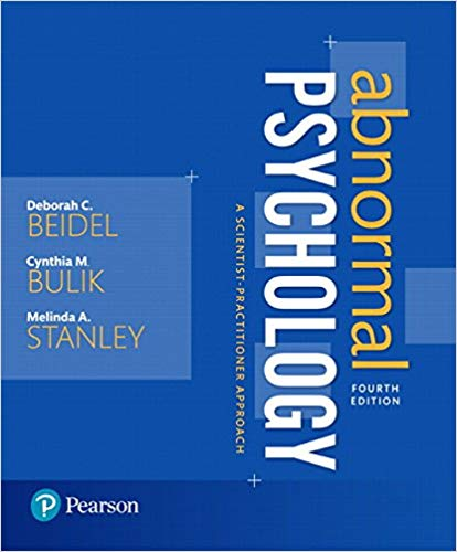 Abnormal Psychology 4th 4E Deborah Beidel PDF - Books with Benefits