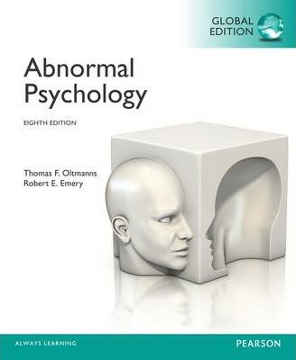 Abnormal Psychology 8th 8E Thomas Oltmanns PDF