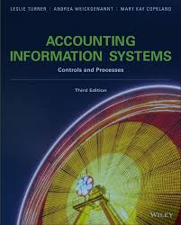 Accounting Information Systems: Controls and Processes, 3rd Edition  by Leslie Turner PDF