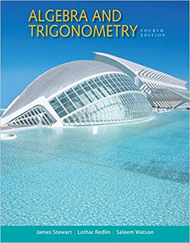 Algebra and Trigonometry 4th Edition by James Stewart  PDF