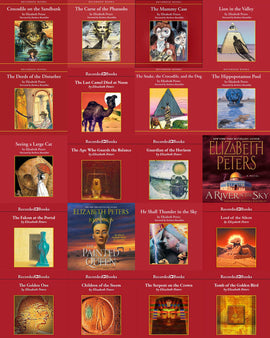 Amelia Peabody Series 1-19 by Elizabeth Peters Audiobooks
