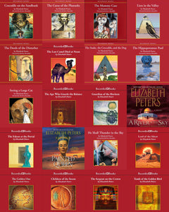 Amelia Peabody Series 1-19 by Elizabeth Peters Audiobooks - Books with Benefits