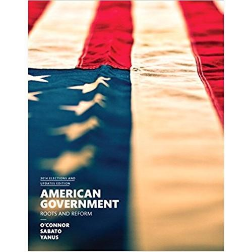 American Government, 12th Edition by Karen O'Connor PDF - Books with Benefits