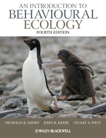 An Introduction to Behavioural Ecology 4th Edition by Nicholas B. Davies PDF - Books with Benefits