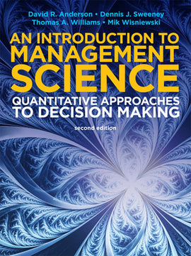An Introduction to Management Science: Quantitative Approaches 2nd 2E PDF