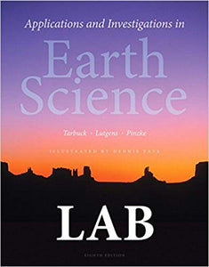 Applications and Investigations in Earth Science 8th Edition PDF - Books with Benefits