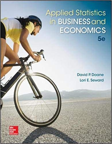 Applied Statistics in Business and Economics 5th Edition by David Doane PDF - Books with Benefits