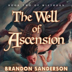 The Well of Ascension by Brandon Sanderson (Mistborn #2) Audiobook MP3 - Books with Benefits