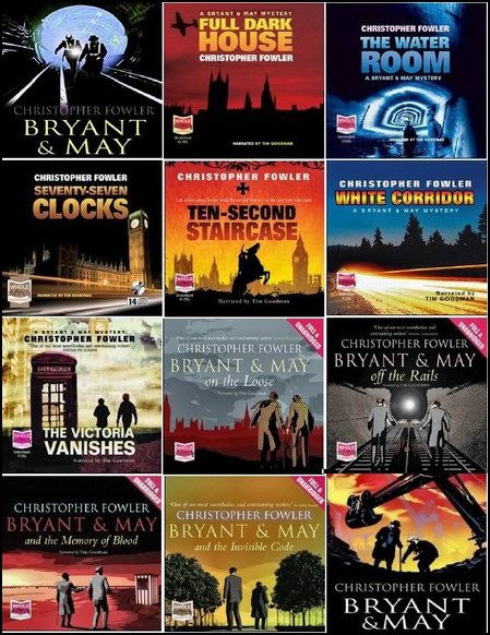Bryant & May mysteries Ebooks 1-12.5 by Christopher Fowler