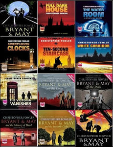 Bryant & May mysteries Ebooks 1-12.5 by Christopher Fowler - Books with Benefits