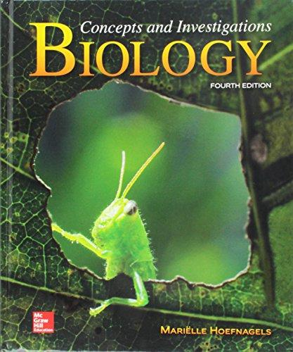 Biology: Concepts and Investigations 4th Edition by Mariëlle Hoefnagels PDF - Books with Benefits