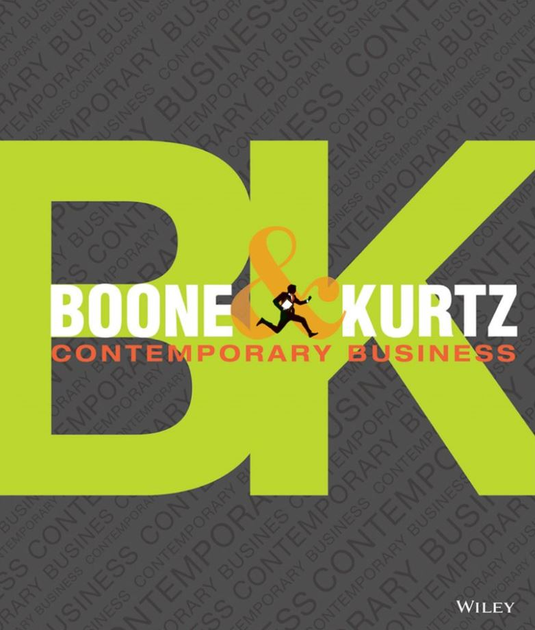 Boone and Kurtz's Contemporary Business 16th 16E PDF
