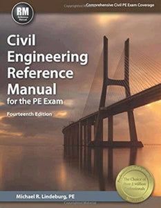 Civil Engineering Reference Manual for the PE Exam 14th Edition by Lindeburg PDF - Books with Benefits