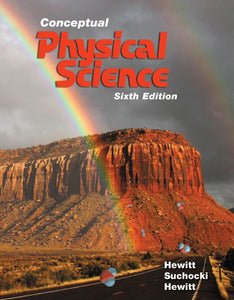 Conceptual Physical Science  6th Edition by Paul G. Hewitt PDF - Books with Benefits