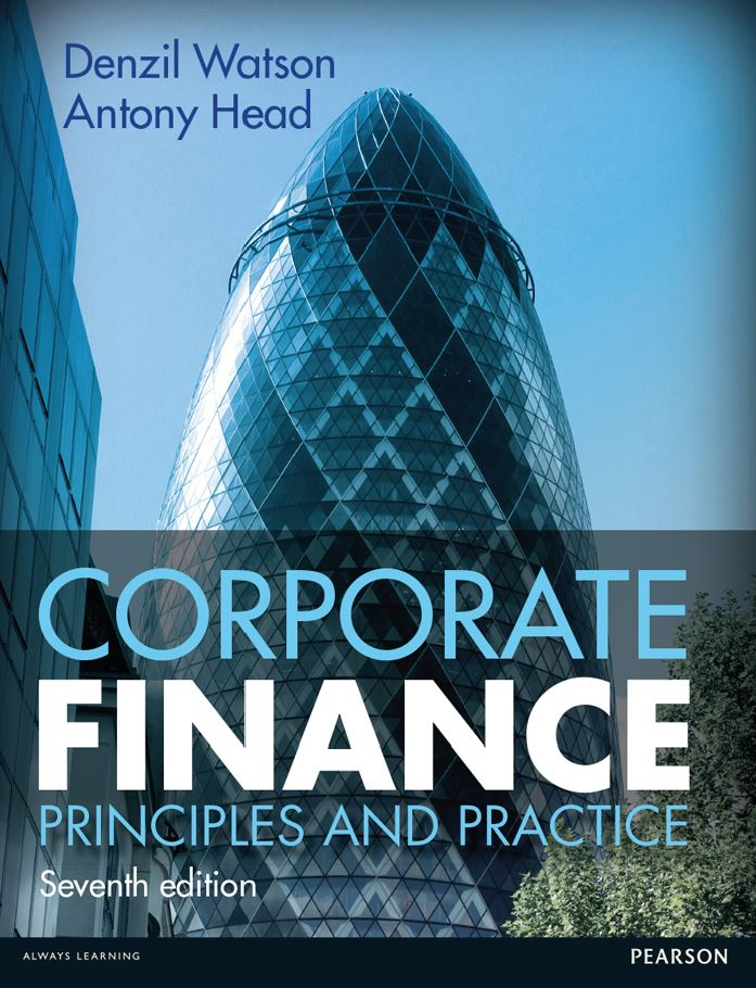 Corporate Finance: Principles and Practice 7th Edition by Denzil Watson PDF